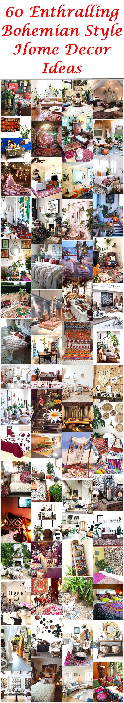 60 Enthralling Bohemian Style Home Decor Ideas
