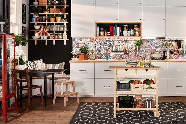 Bohemian Style Kitchens 1
