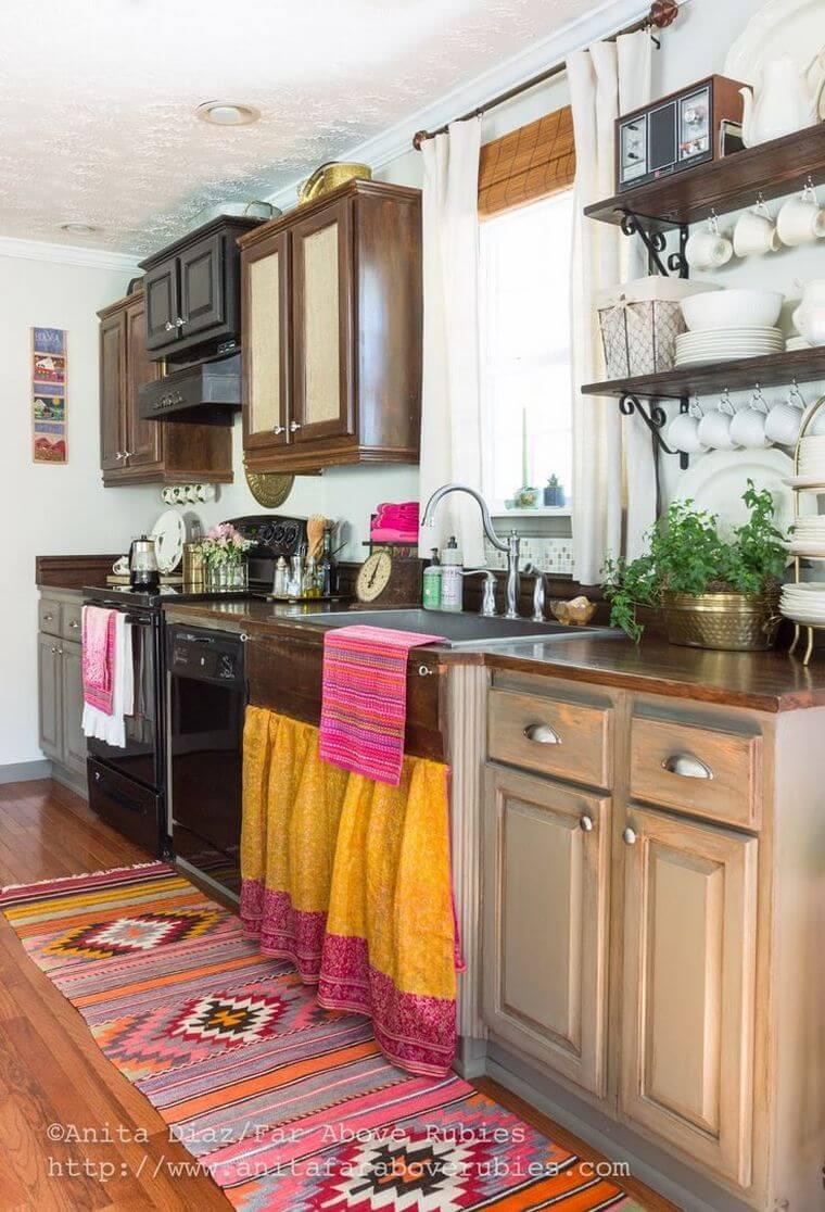 Bohemian Style Kitchens 11