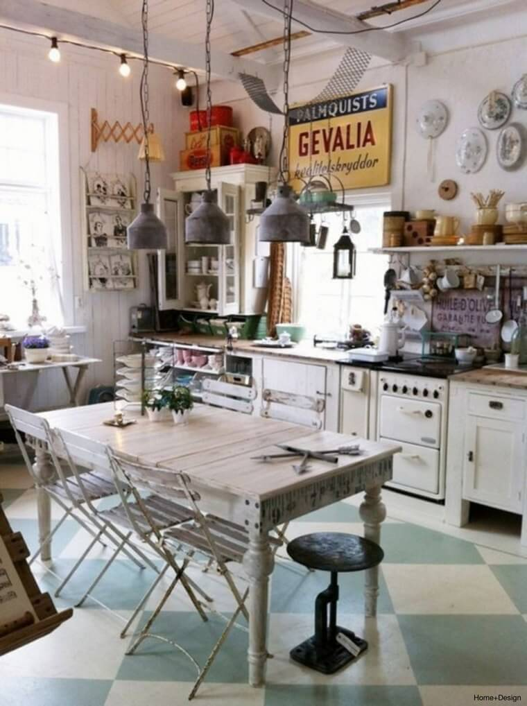 Bohemian Style Kitchens 12