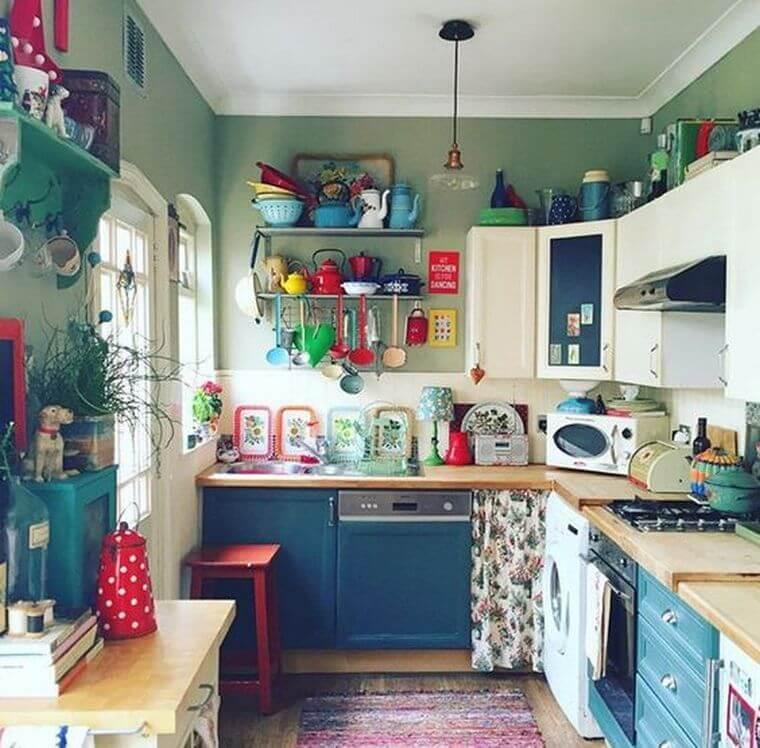 Bohemian Style Kitchens 15