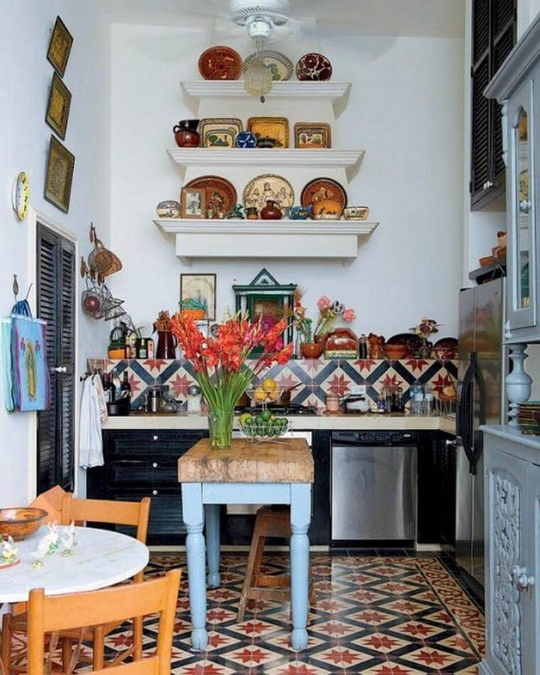 Bohemian Style Kitchens 2