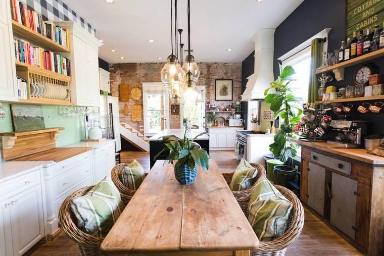 Bohemian Style Kitchens 9