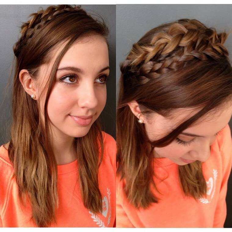 Cute Boho Style Girls Hair Styles For Any Kind of Hairs (11)