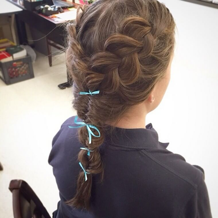 Cute Boho Style Girls Hair Styles For Any Kind of Hairs (12)