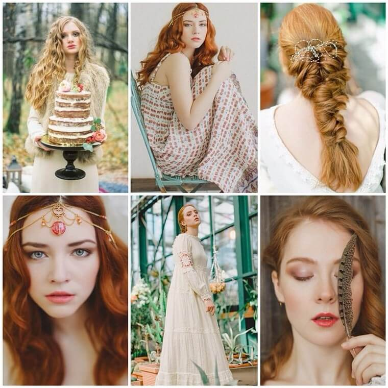 Cute Boho Style Girls Hair Styles For Any Kind of Hairs (14)