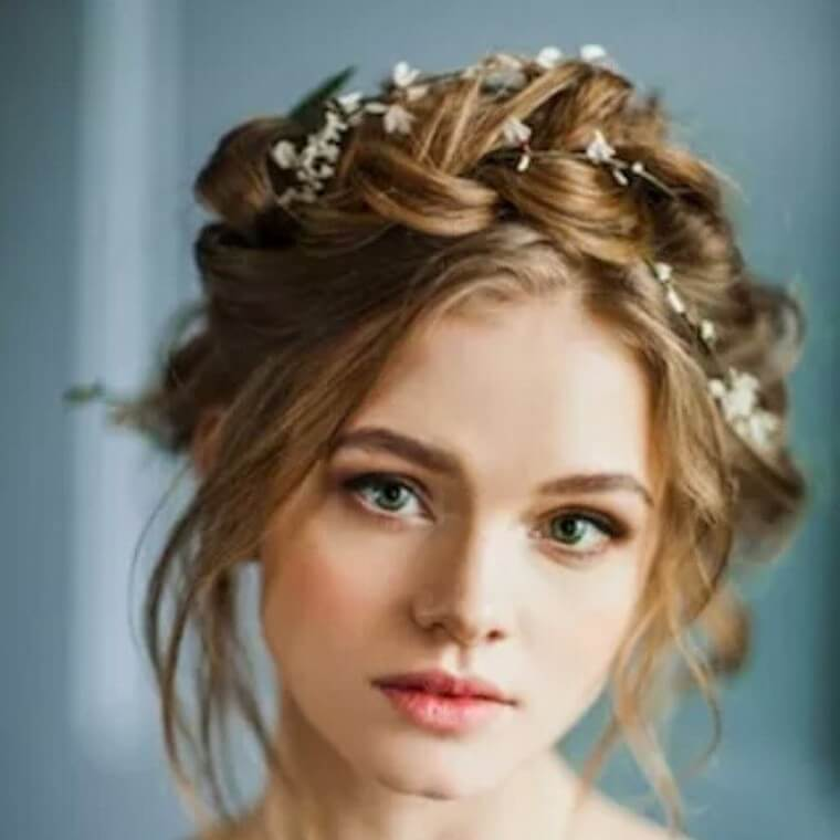 Cute Boho Style Girls Hair Styles For Any Kind of Hairs (15)