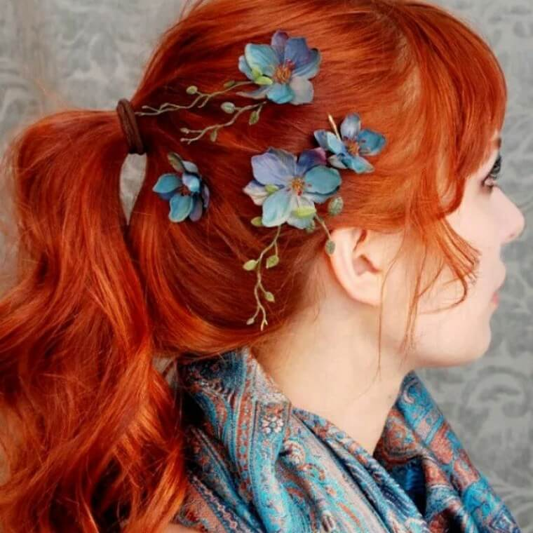 Cute Boho Style Girls Hair Styles For Any Kind of Hairs (16)