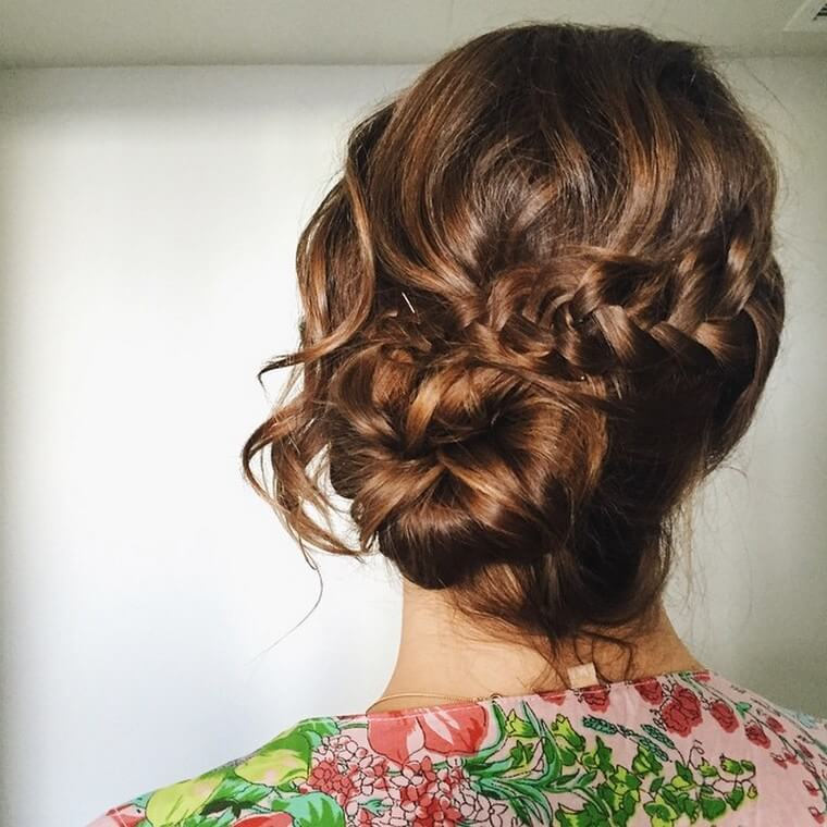 Cute Boho Style Girls Hair Styles For Any Kind of Hairs (17)