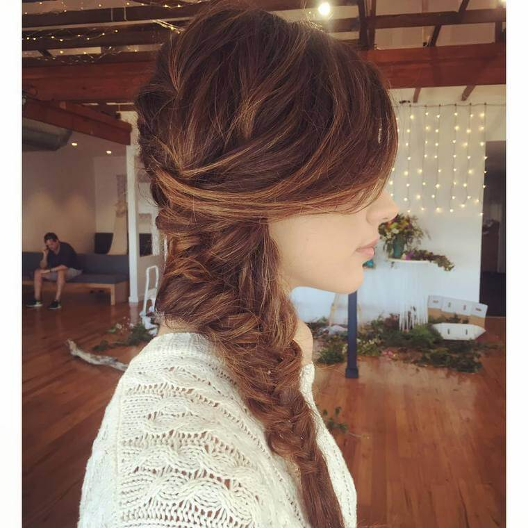 Cute Boho Style Girls Hair Styles For Any Kind of Hairs (19)