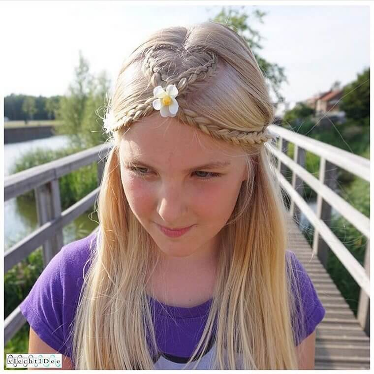 Cute Boho Style Girls Hair Styles For Any Kind of Hairs (20)