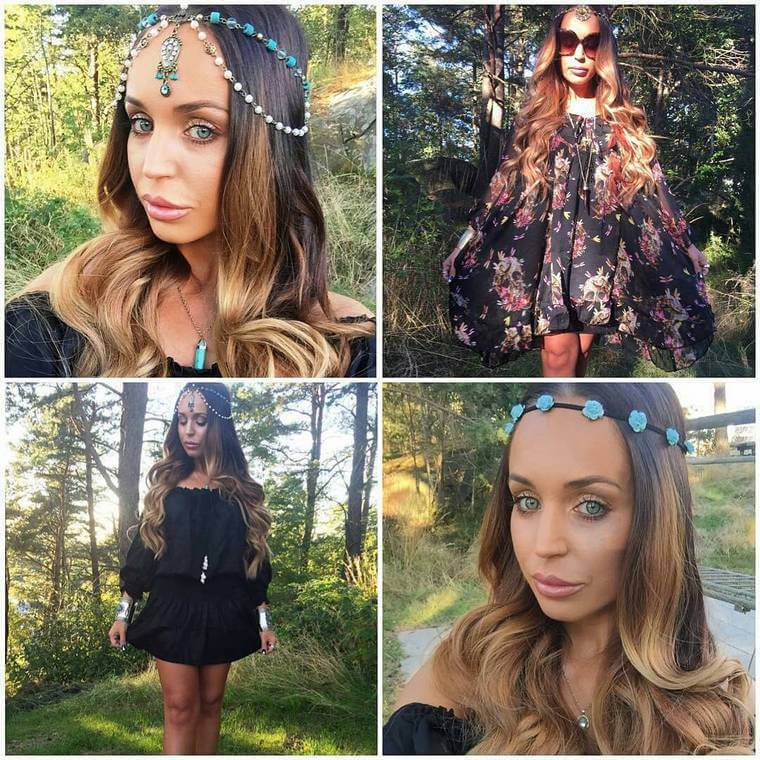 Cute Boho Style Girls Hair Styles For Any Kind of Hairs (27)