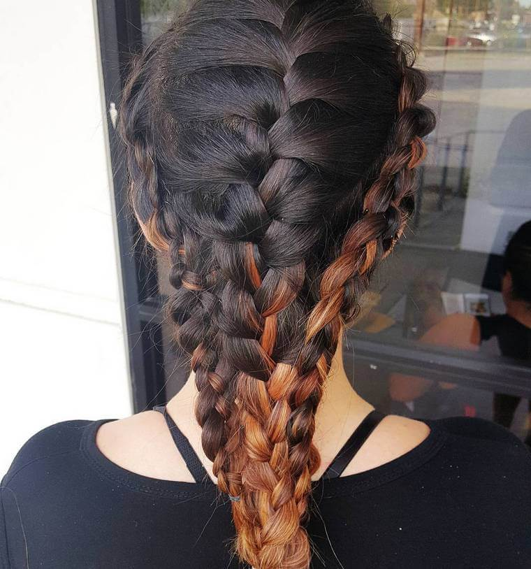 Cute Boho Style Girls Hair Styles For Any Kind of Hairs (33)