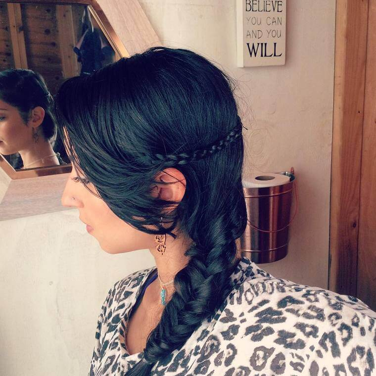 Cute Boho Style Girls Hair Styles For Any Kind of Hairs (35)