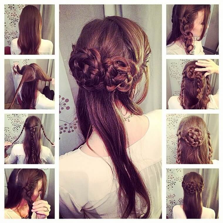 Cute Boho Style Girls Hair Styles For Any Kind of Hairs (4)