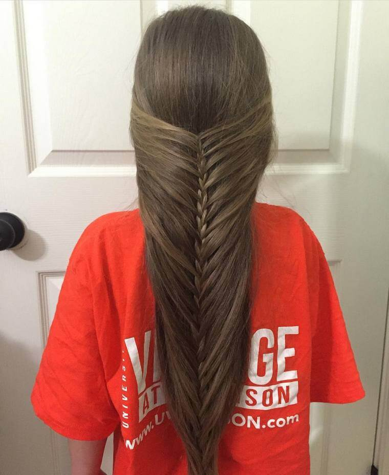 Cute Boho Style Girls Hair Styles For Any Kind of Hairs (42)