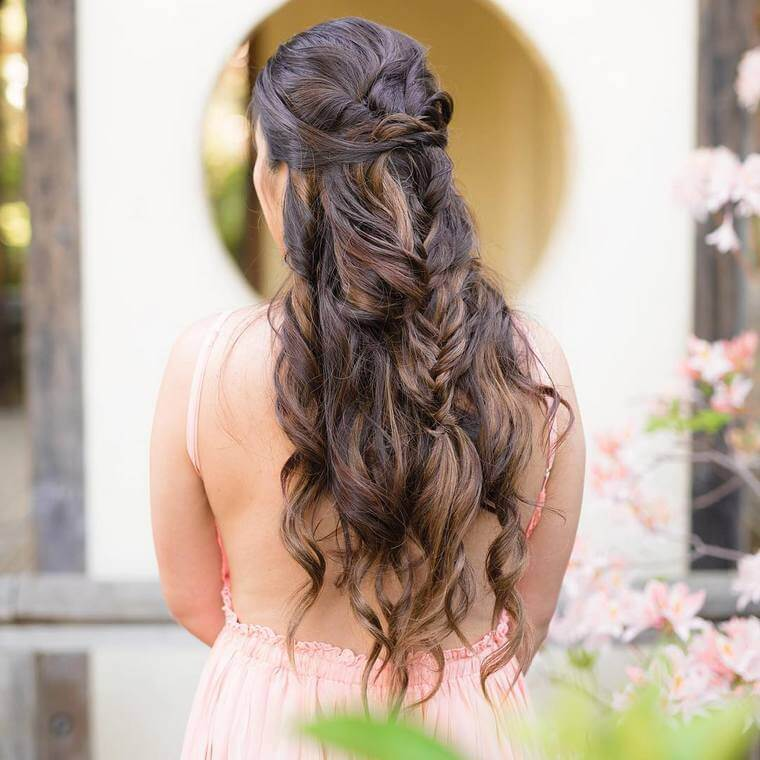 Cute Boho Style Girls Hair Styles For Any Kind of Hairs (43)