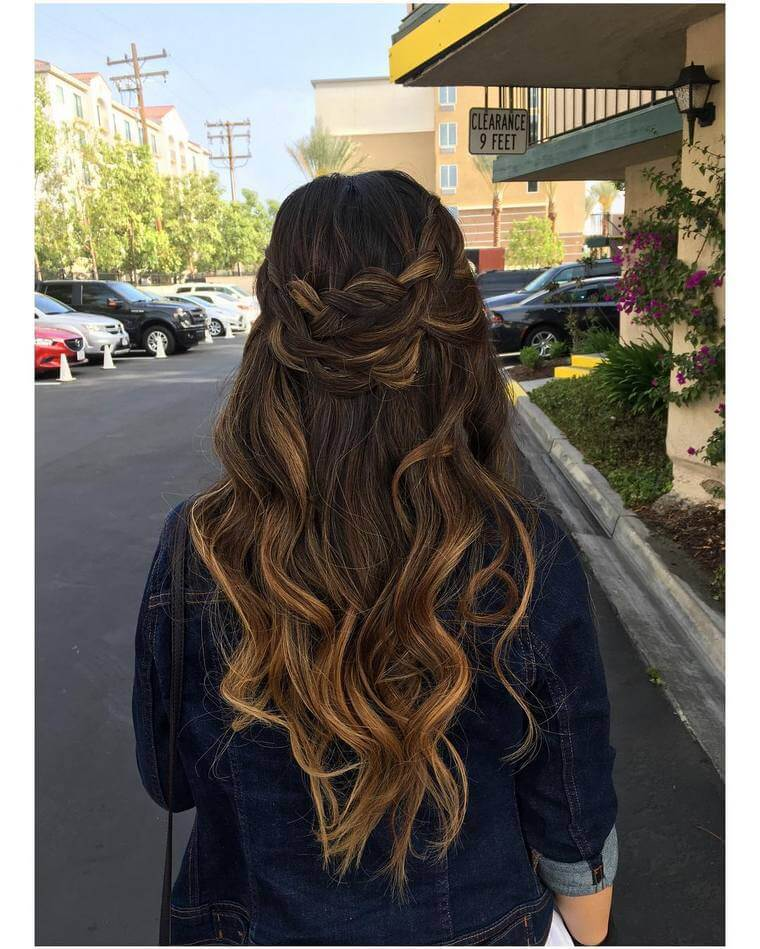Cute Boho Style Girls Hair Styles For Any Kind of Hairs (48)