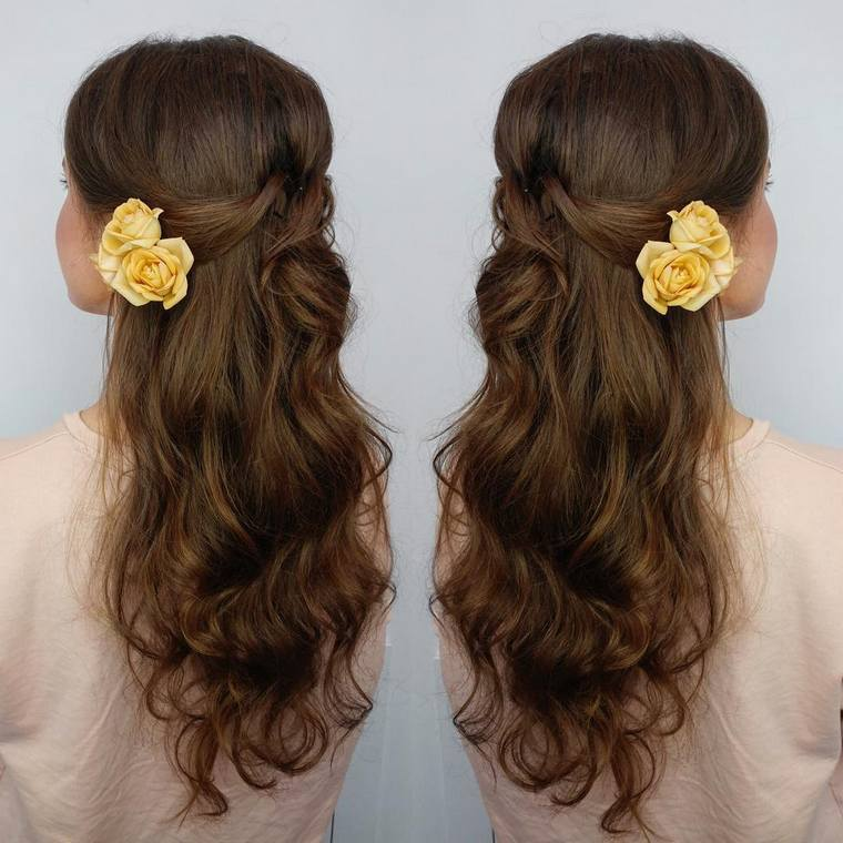 Cute Boho Style Girls Hair Styles For Any Kind of Hairs (52)