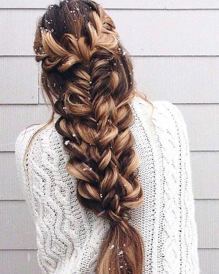 Cute Boho Style Girls Hair Styles For Any Kind of Hairs (53)