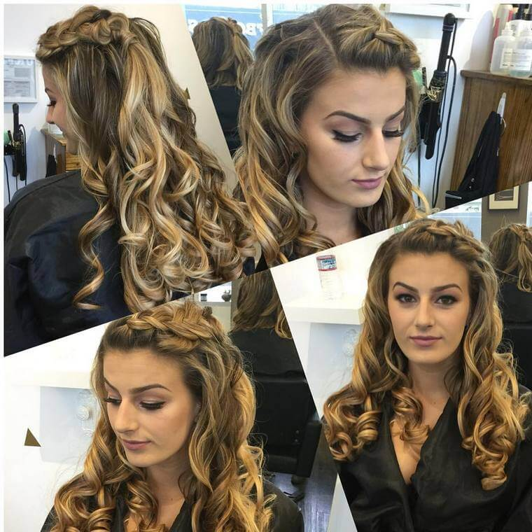 Cute Boho Style Girls Hair Styles For Any Kind of Hairs (55)