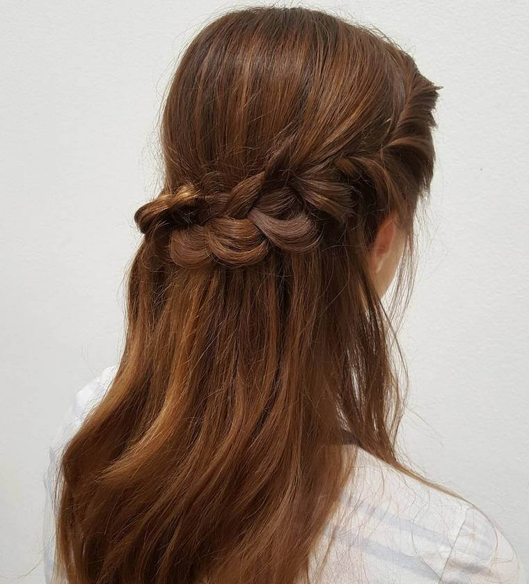 Cute Boho Style Girls Hair Styles For Any Kind of Hairs (57)