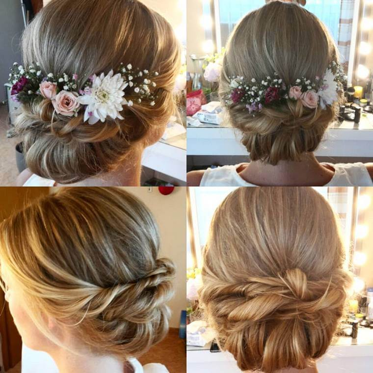 Cute Boho Style Girls Hair Styles For Any Kind of Hairs (58)