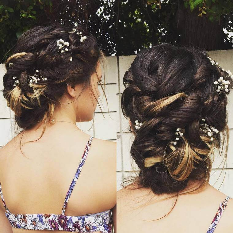 Cute Boho Style Girls Hair Styles For Any Kind of Hairs (59)
