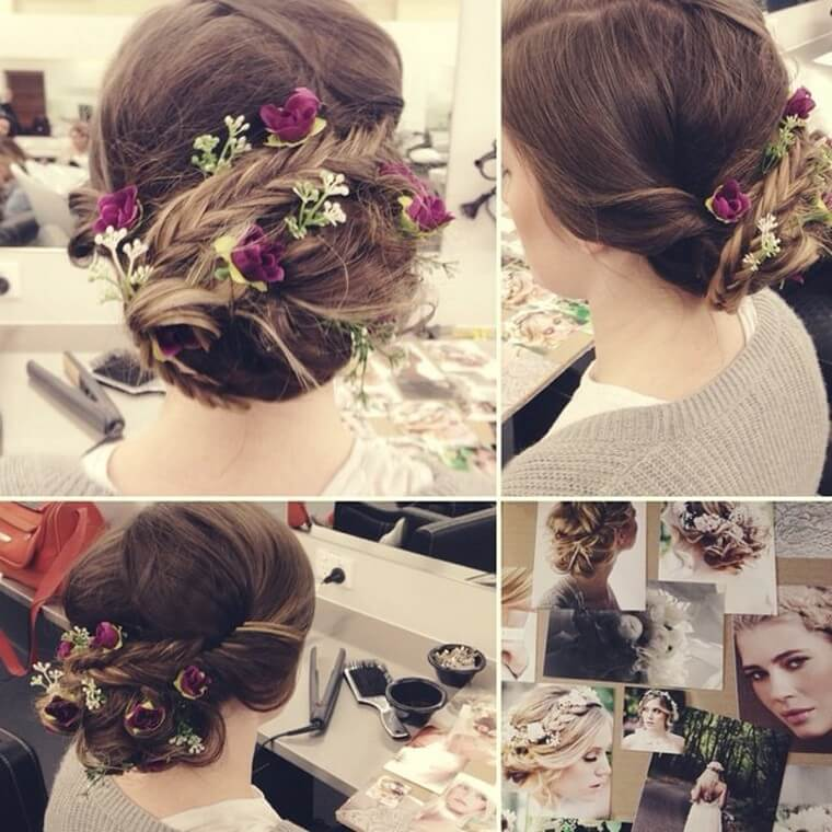 Cute Boho Style Girls Hair Styles For Any Kind of Hairs (6)