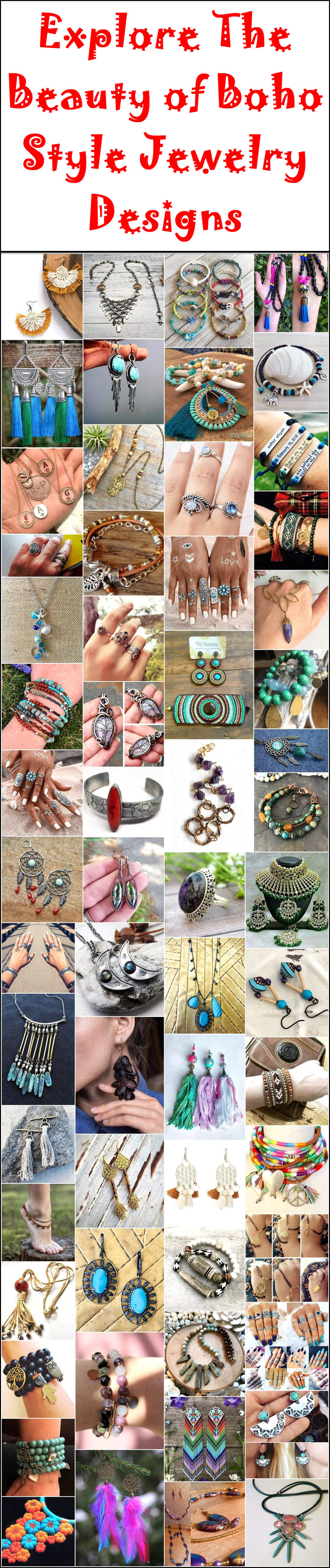 Explore The Beauty of Boho Style Jewelry Designs