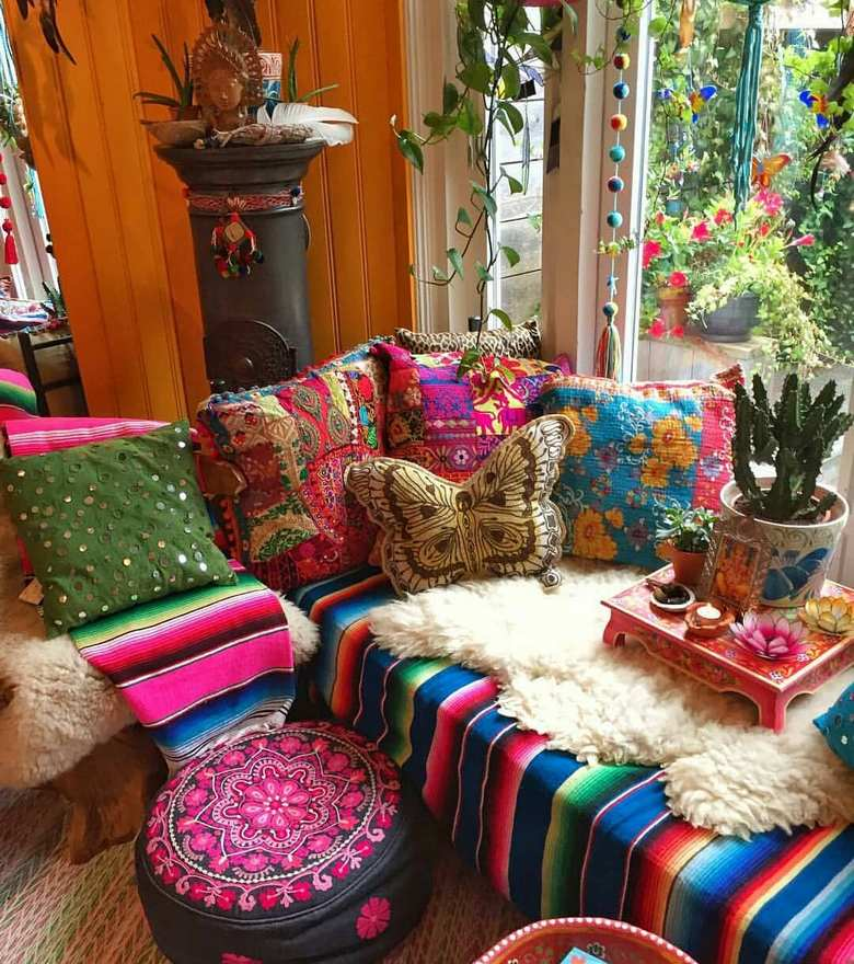 boho style decor ideas 0