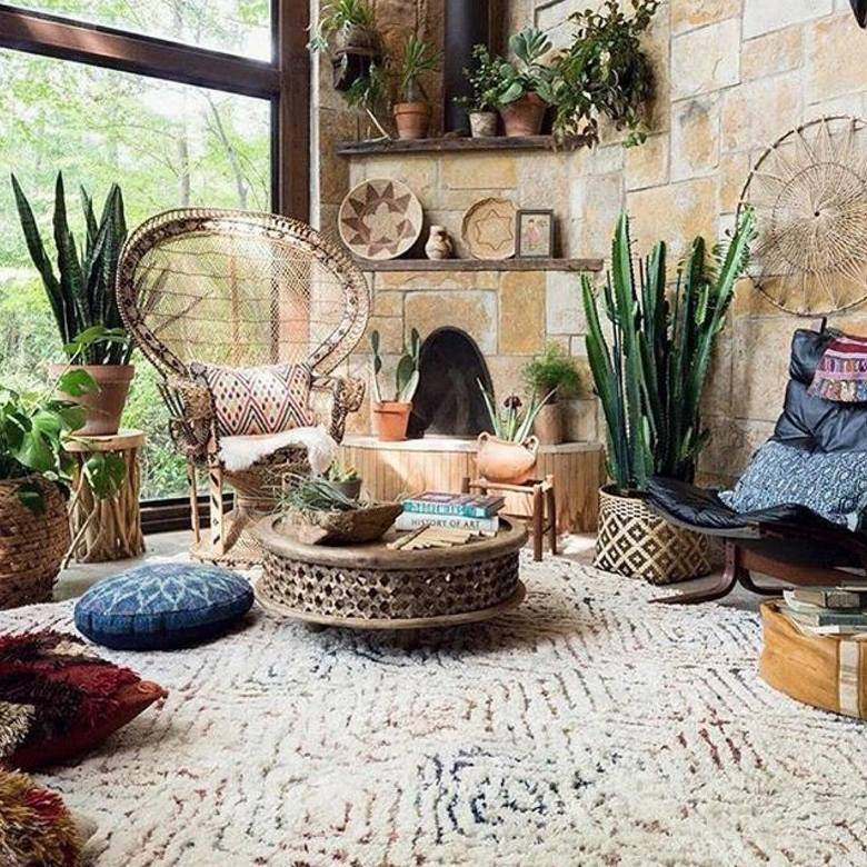 boho style decor ideas 31
