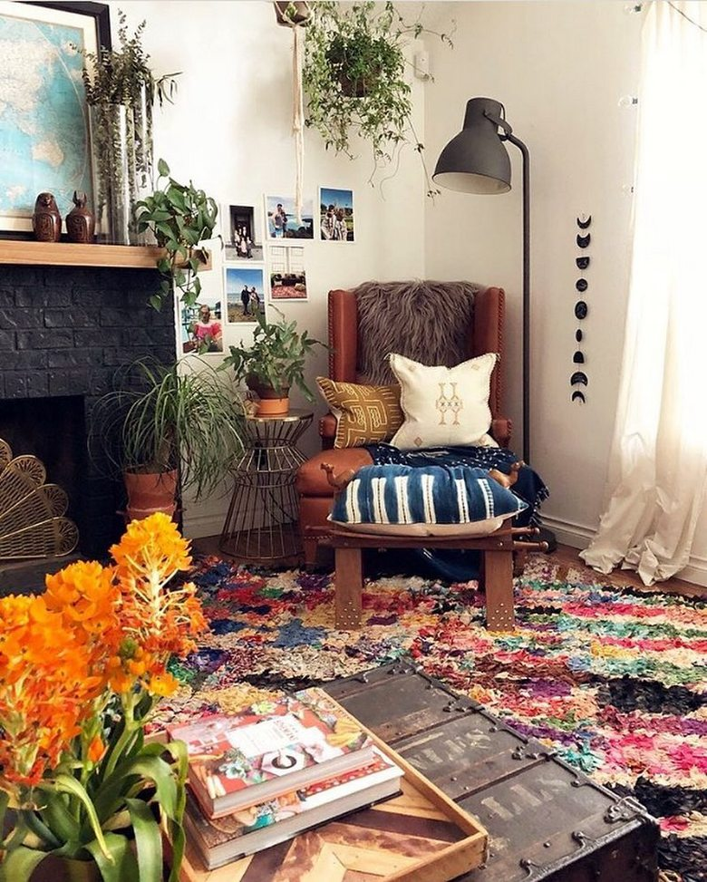 boho style decor ideas 51