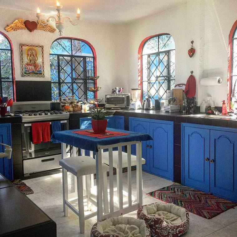 boho style kitchen 17 (14)