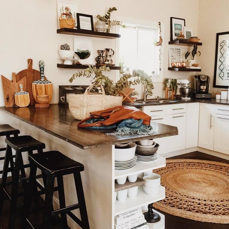 boho style kitchen 17 (18)