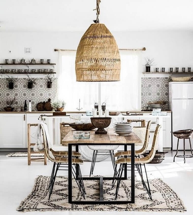 boho style kitchen 17 (20)