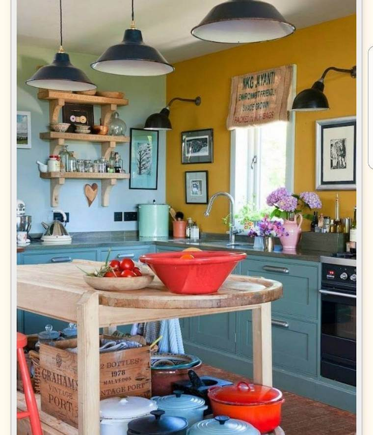 boho style kitchen 17 (22)