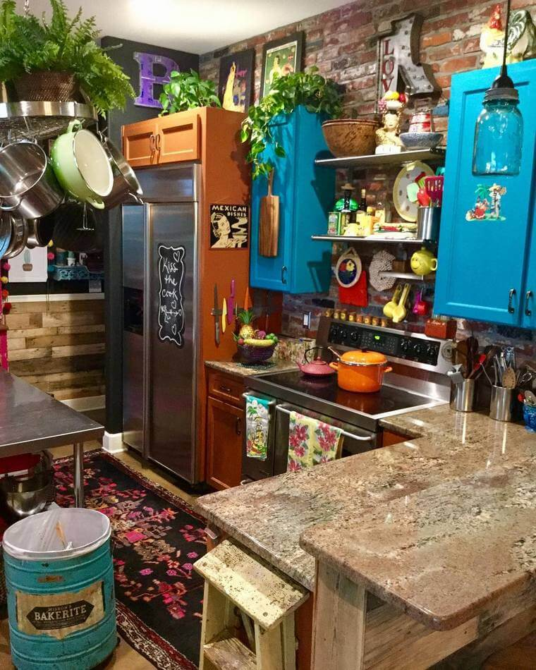 boho style kitchen 17 (24)