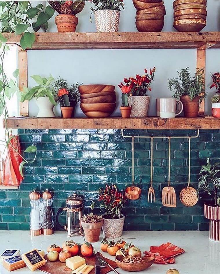 boho style kitchen 17 (37)