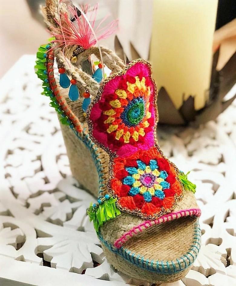 boho style shoes 14