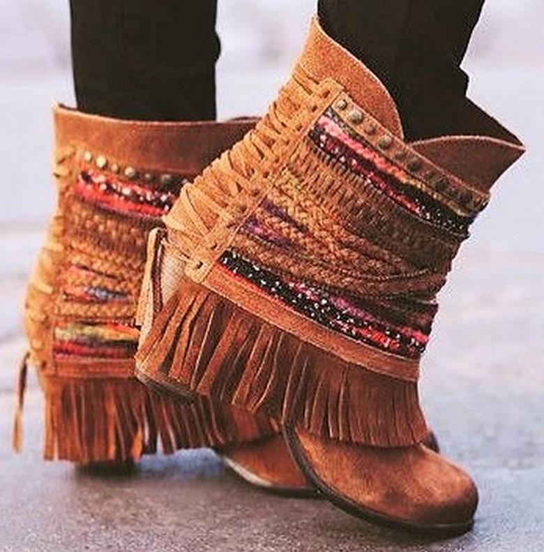 boho style shoes 21