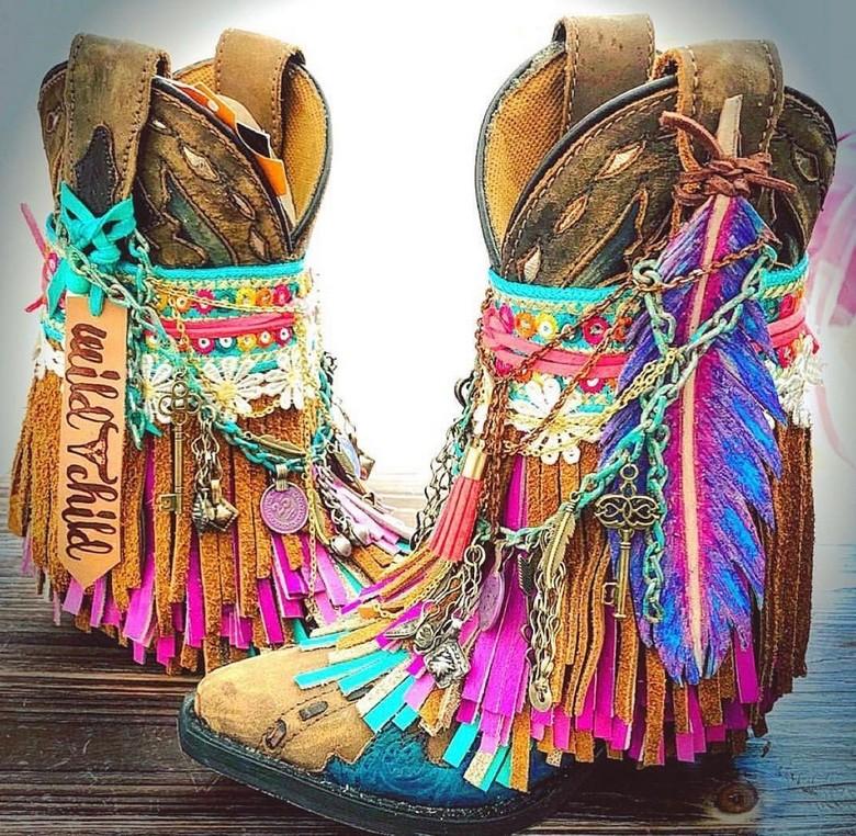 boho style shoes 23