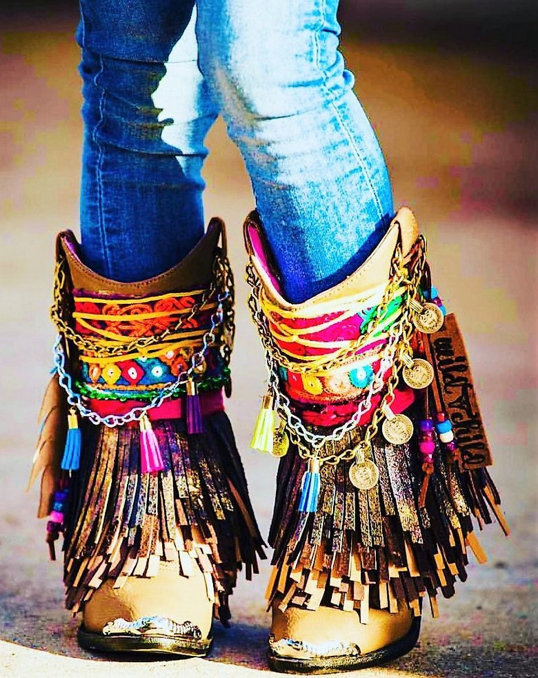 boho style shoes 28