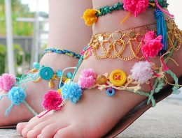 Bohemian Style Shoes Design Ideas For Girls
