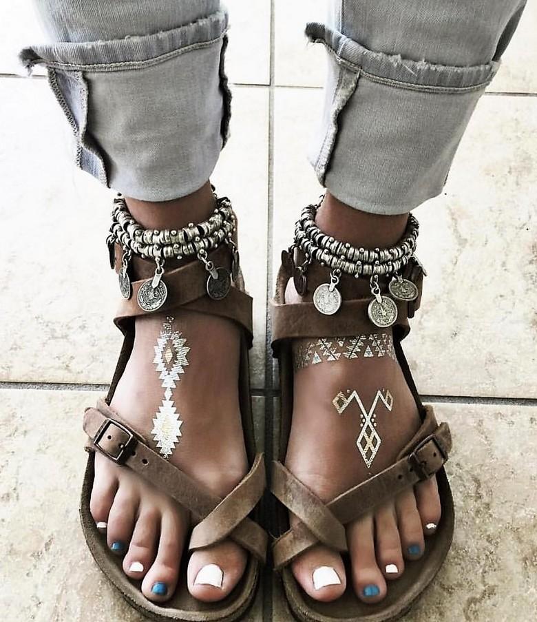 boho style shoes 34