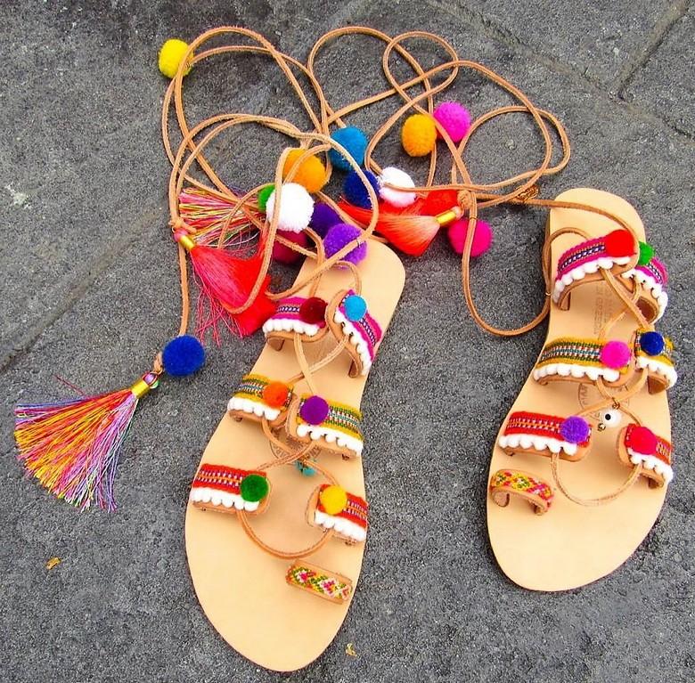 boho style shoes 35