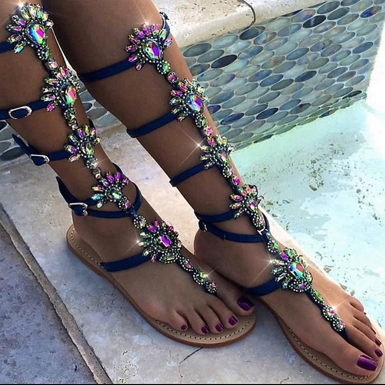 boho style shoes 38