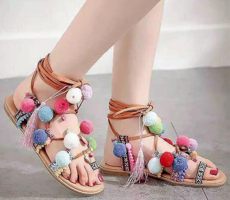 boho style shoes 41