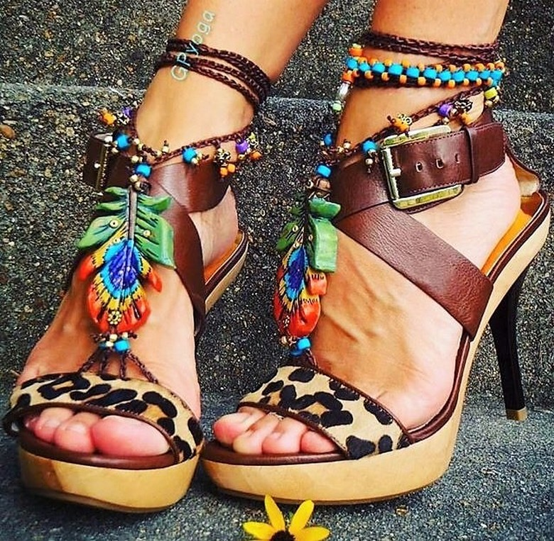 boho style shoes 51