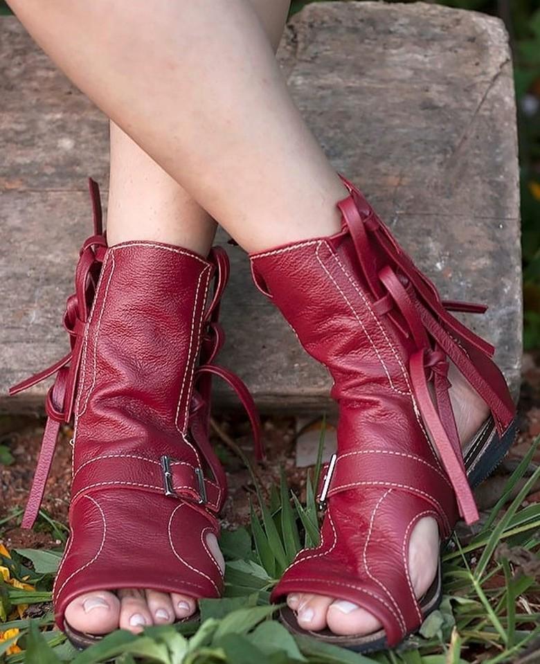 boho style shoes 54